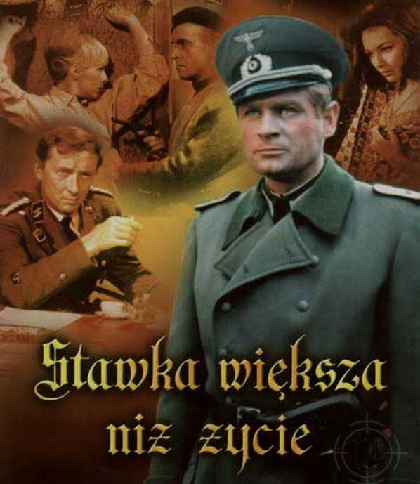 """""""Stawka większa niż życie"""" – polski 18-odcinkowy serial telewizyjny z lat 1967-1968."""