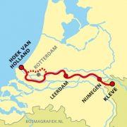 Grote rivierenpad: Hoek van Holland - Leerdam - Nijmegen - Kleve  http://wandelnet.nl/grote-rivierenpad-law-6