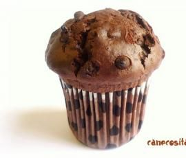 "Muffins de chocolate (estilo ""Starbucks"") by Alicia (cane) on www.recetario.es"