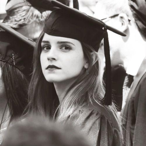 Emma Watson | Graduation Ceremony at Brown University in Providence, RI (May 25, 2014)
