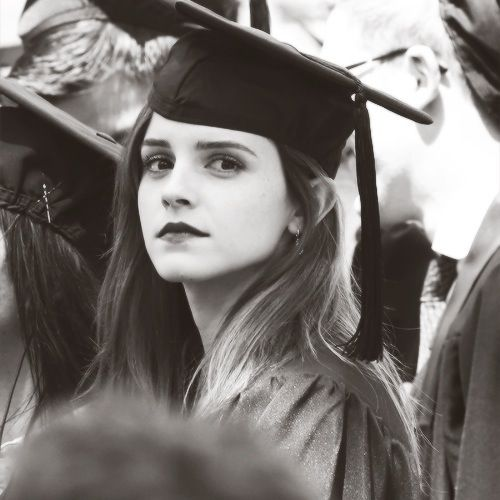Emma Watson | Graduation Ceremony at Brown University in Providence, RI (May 25, 2014)