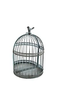 BIRDCAGE WITH MIRROR
