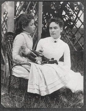 """Helen Keller, the inspirational author, political activist and lecturer, was the first deaf-blind person to earn a Bachelor of Arts degree. """"The Miracle Worker"""" tells  how teacher Anne Sullivan taught Helen Keller to communicate and thrive."""