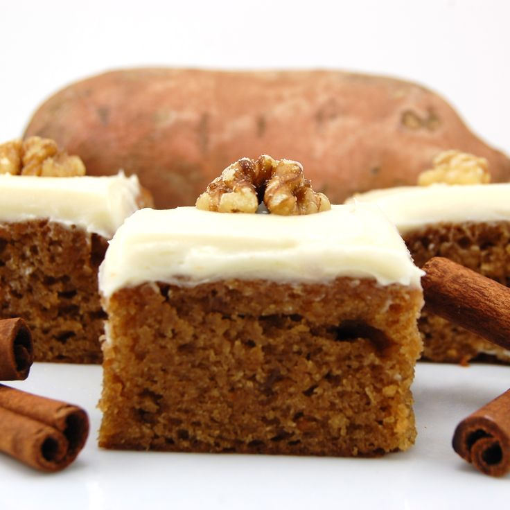 Sweet Potato Bars with Cream Cheese Frosting: Cream Cheesefrost, Cream Cheese Frostings, S'Mores Bar, Potatoes Bar, Sweets Peas, Favorite Recipe, Cookies With Sweets Potatoes, Cream Chees Frostings, Cream Cheeses