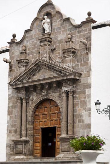 Church in Santa Cruz de la Palma, La Palma, Canary Islands