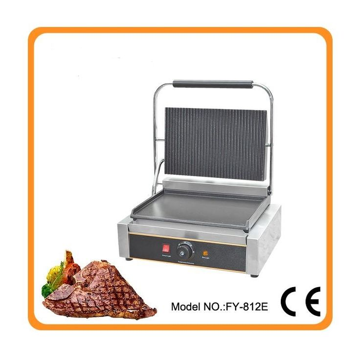 153.00$  Watch now - http://ali5jp.worldwells.pw/go.php?t=32643405510 - Restaurant equipment for sale commercial Thermostat electric cast iron griddle machine/commercial electric contact grill