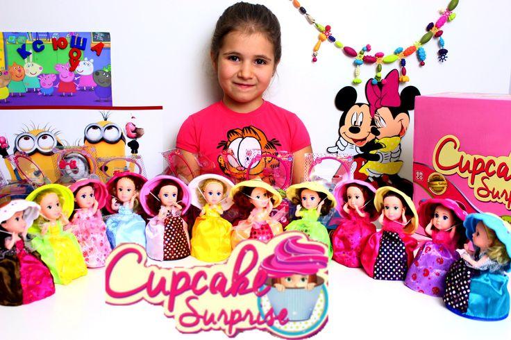 Ароматные капкейки куколки Распаковка 12 шт Cupcake Surprise doll unboxing