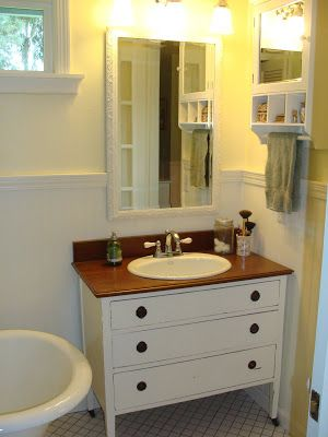 Image Gallery For Website Best Dresser to vanity ideas on Pinterest Dresser sink Dresser designs and Vanity sink