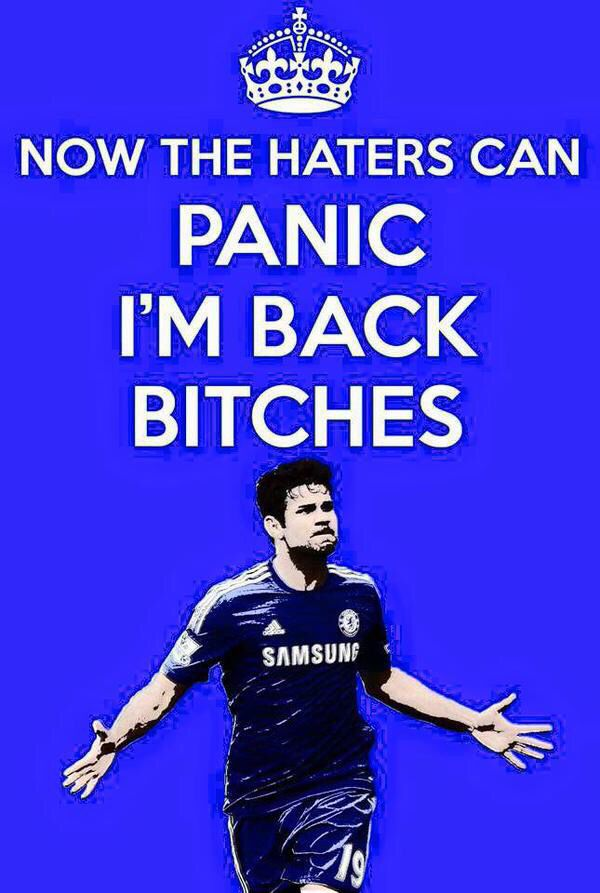 Costa is back
