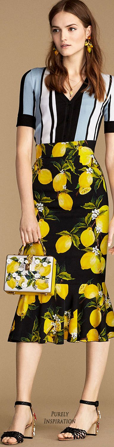 Dolce & Gabbana SS2016 Italian Summer Collection   Purely Inspiration