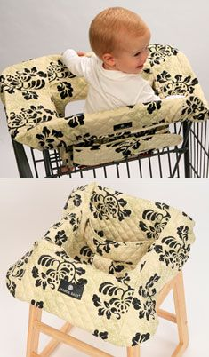 Balboa Baby shopping cart and high chair cover