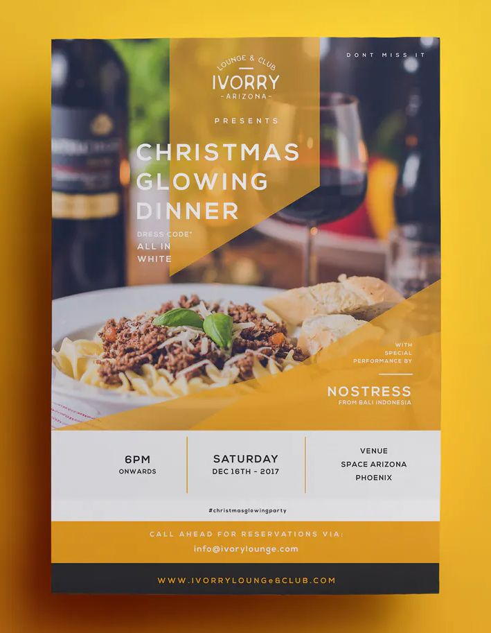 Restaurant Flyer Template Vector Eps Ai Restaurant Flyer Food Design Flyer