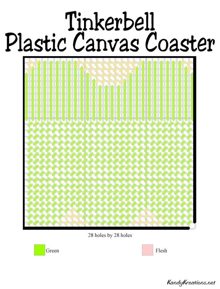 Kandy Kreations: Disney Princess Plastic Canvas Coaster Patterns