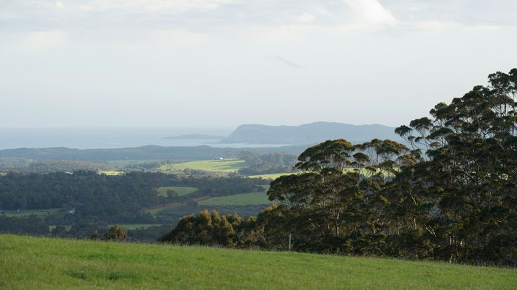 Looking to Willam's Bay in the Great Southern wine region