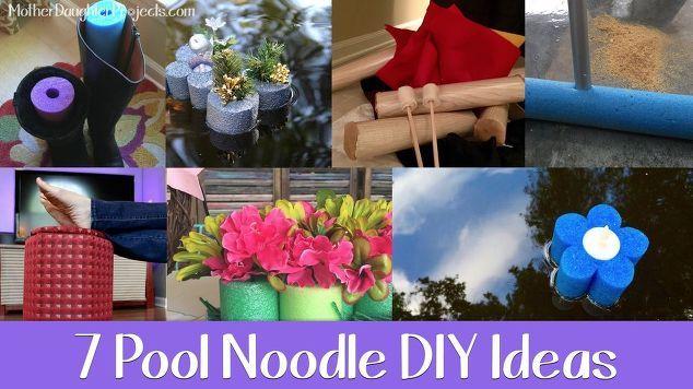 7 Möglichkeiten, eine Poolnudel, Handwerk, Bau-, Heimdekor, Repurposing Upcycling zu diy