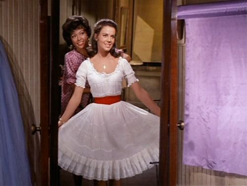 """A girl always needs a friend to help her get ready (""""West Side Story"""")"""