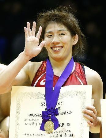 日本女子レスリングといえばこの人!吉田沙保里選手! レスリング選手一覧