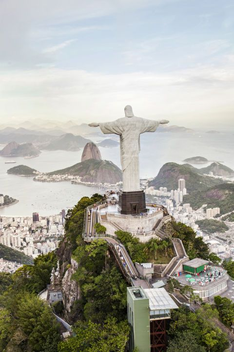 No trip to Rio de Janeiro is really complete without visiting the 98-foot-tall statue of Jesus located on Corcovado Mountain. For truly unique views, schedule a helicopter tour.