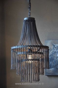 hoffz ijzeren kroonluchter / iron chandelier