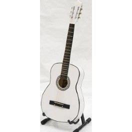 GUITARE CLASSIQUE CORDE METAL BLANC LAQUE - Achat / Vente guitare GUITARE CLASSIQUE CORDE MET… - Cdiscount