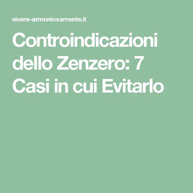 Controindicazioni dello Zenzero: 7 Casi in cui Evitarlo
