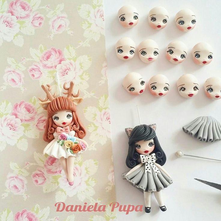 Daniela Pupa polymer clay                                                                                                                                                                                 Más
