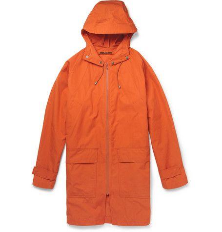 Парка мужская оранжевая с капюшоном Maison Martin Margiela Mr Porter - Магазины модной одежды на be-in.ru 2013