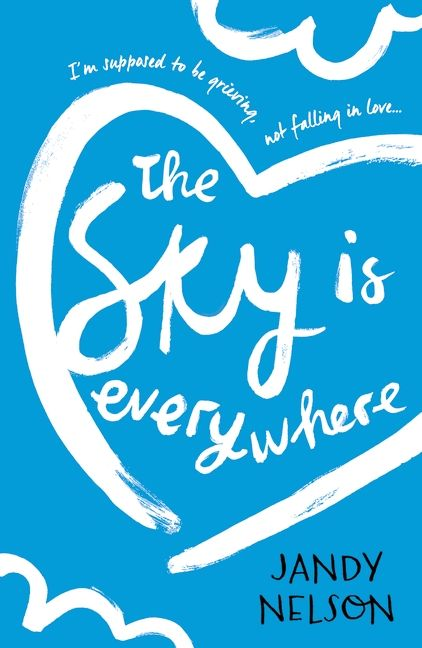The Sky Is Everywhere by Jandy Nelson. Seventeen-year-old Lennie Walker spends her time tucked safely and happily in the shadow of her fiery older sister, Bailey. But when Bailey dies abruptly, Lennie is catapulted to centre stage of her own life – and suddenly finds herself struggling to balance two boys. One boy takes Lennie out of her sorrow; the other comforts her in it. But the two can't collide without Lennie's world exploding...
