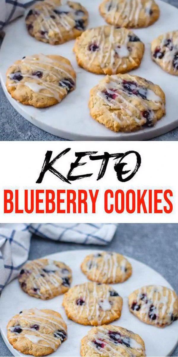 Keto-Kekse! ERSTAUNLICHE ketogene Diätkekse – Easy Blueberry Low Carb Kekse. …