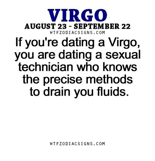 dating a virgo