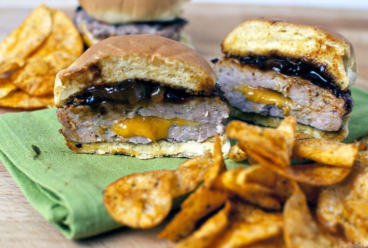 ... Mmmmm Burgers! on Pinterest | Pork Burgers, Burger Recipes and Burgers