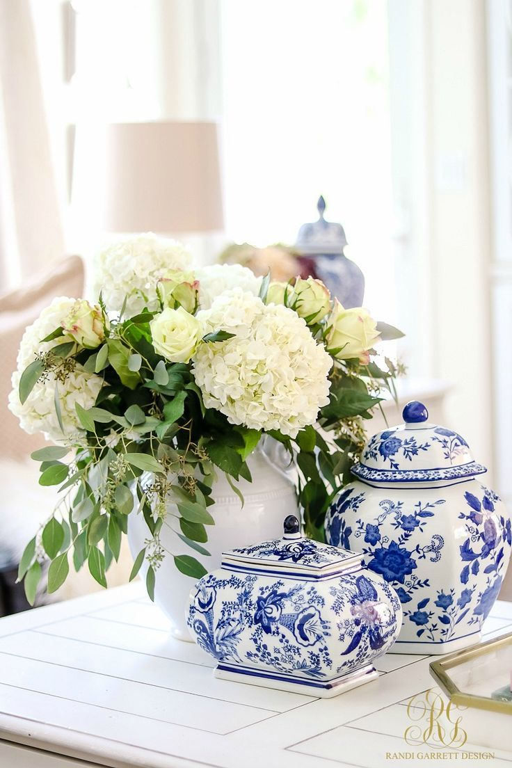 372 best Blue and White Home Decor images on Pinterest | Summer deco ...