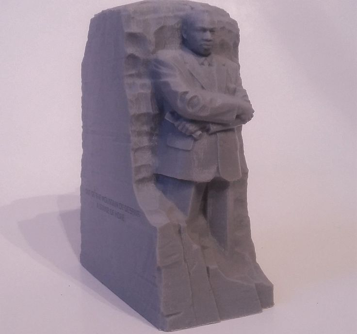 Martin L. King statue by LuxuryHobby on Etsy