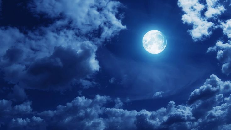 clouds full moon hd free wallpapers Download