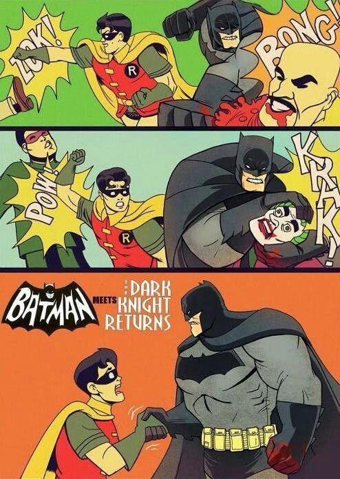 Batman meets The Dark Knight Returns