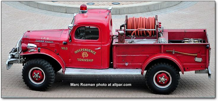 Dodge Power Wagon Fire Truck