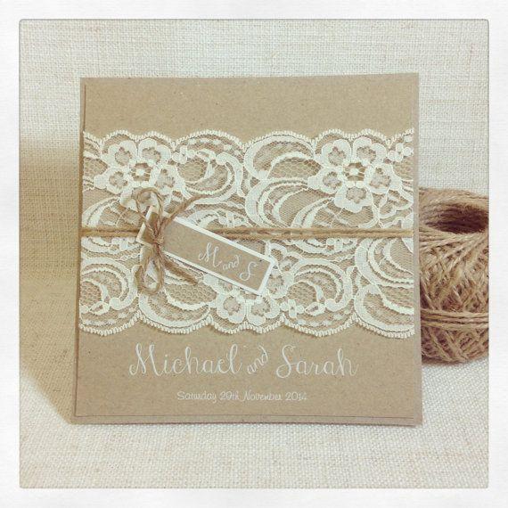 Dies ist eine Liste für ein Beispiel rustikale Vintage Lace Hochzeitseinladung…