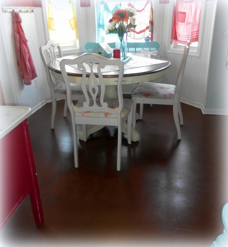 Have a scratched up old laminate floor? No budget to replace it? Learn how you can paint it with these downloadable instructions.