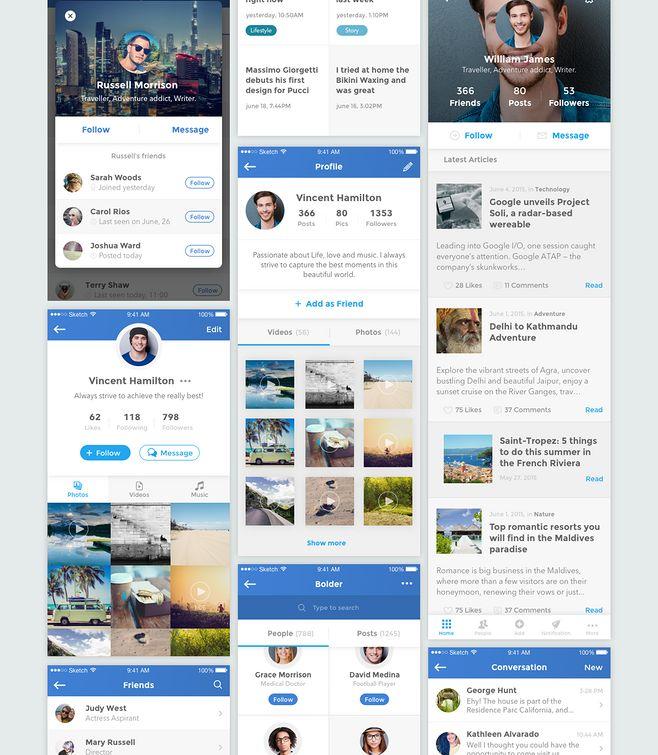 UI & UX Design / Bol...