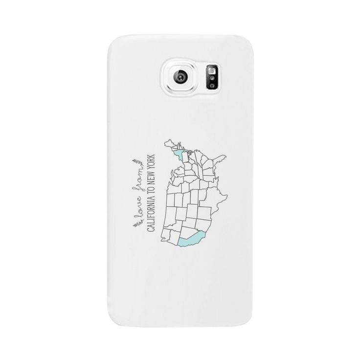 Love From States Customized Phone Case Personalized Phone Cover