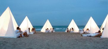 Diy teepee...would be easy to make with pvc pipe and a little sewing