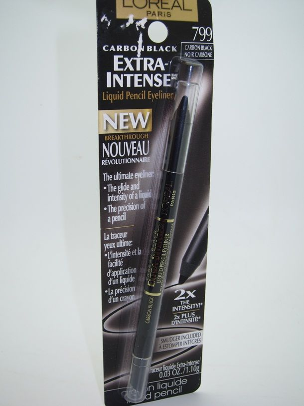 L'Oreal Extra Intense Liquid Pencil Eyeliner 799 carbon black