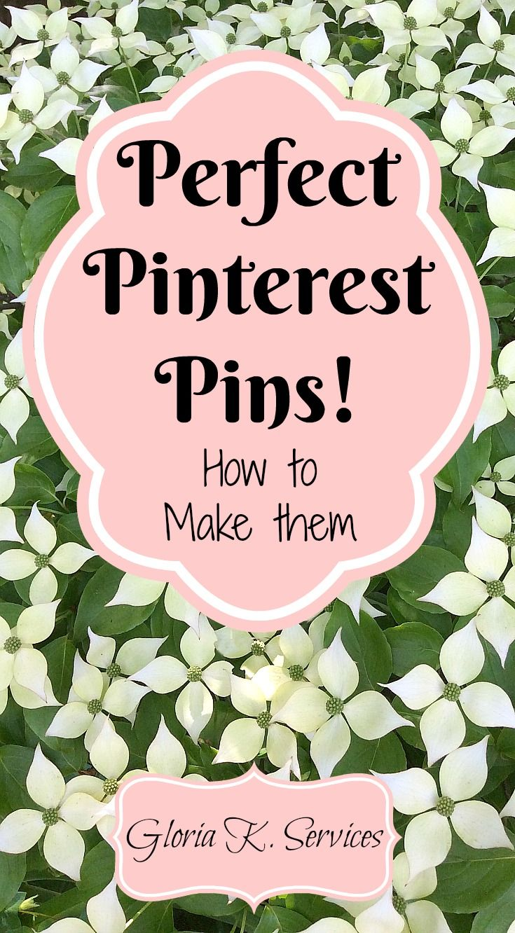 Perfect Pinterest Pins Should:  Look Great Have a Catchy Title Describe something you want to read or learn more about.  Pinterest Pins need to grab the reader's attention within the first few seconds.  If you…Continue Reading…