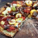 Low carb bloemkool pizza