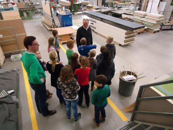 't #Bijenveld bezocht #Hubbers bv in het kader van #Jeelo-project Maken van je eigen product