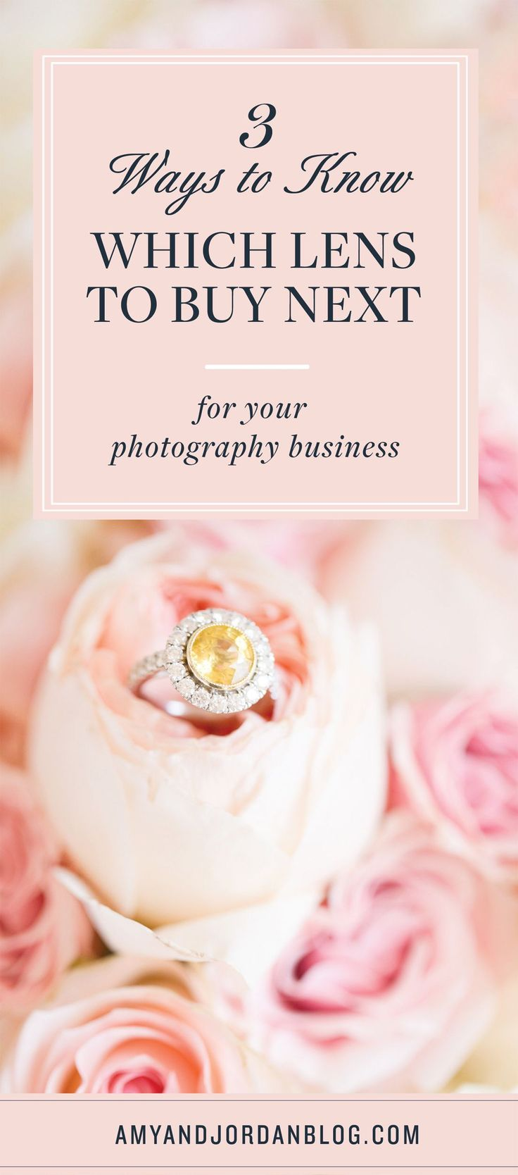 3 ways to know which lens to buy next for your photography business.