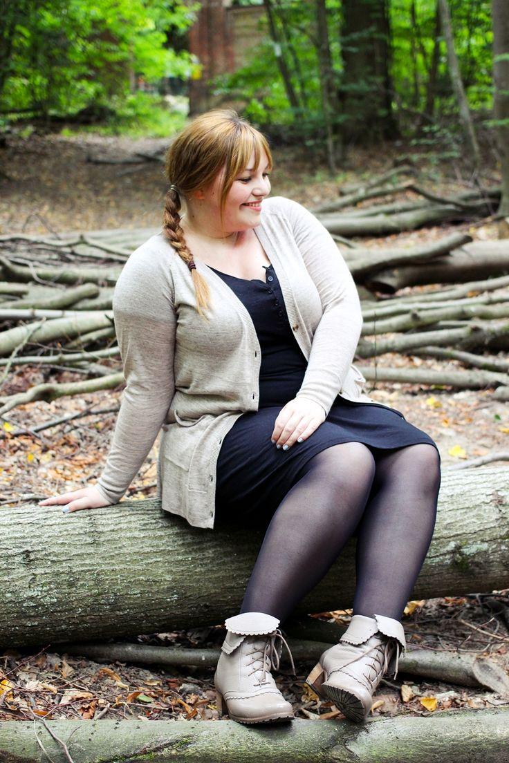 kathastrophal.de   Plus Size Outfit für den Herbst mit bequemen Schuhen von tessamino.de