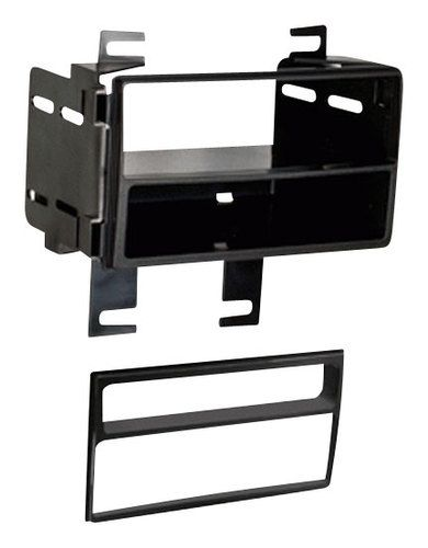 Metra - Dash Kit for Select 2011-2015 Nissan Rogue/Rogue S and SV with SL Pkg - Black