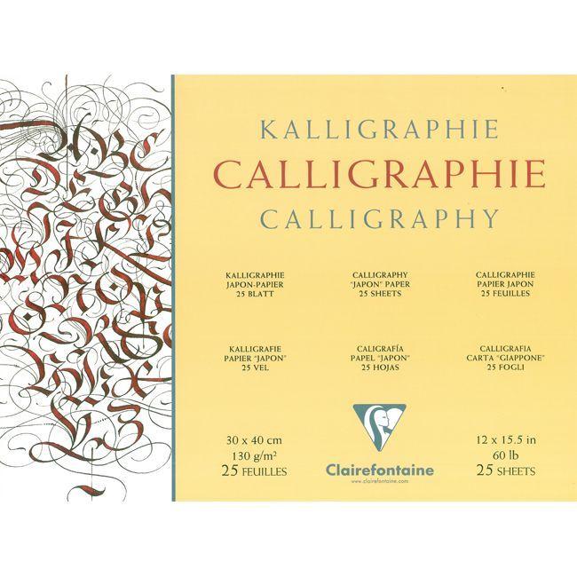 kalligrafiepapier clairefontaine