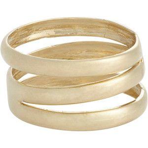 Loren Stewart Gold Trinity Ring